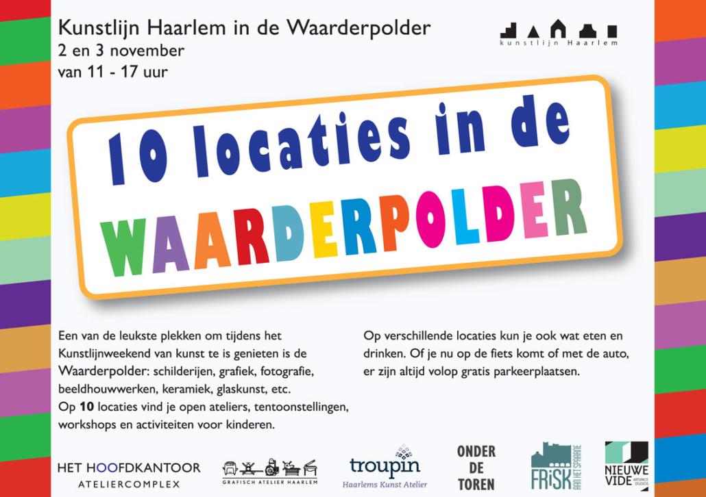 Kunstlijn Haarlem in de Waarderpolder 2019